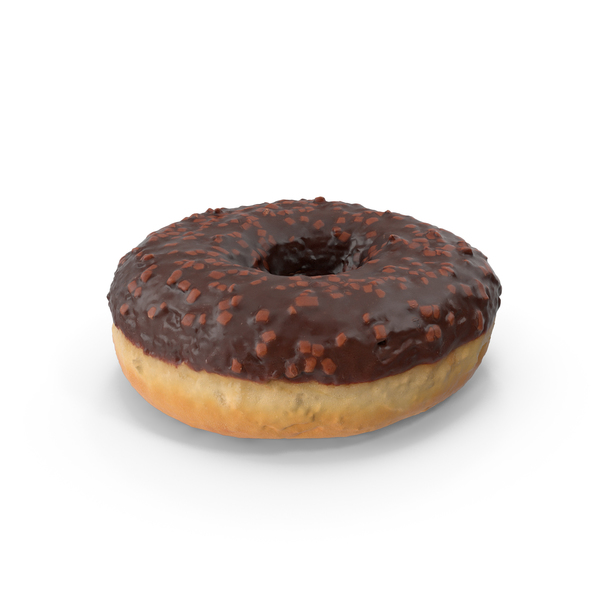 Chocolate Donut PNG & PSD Images