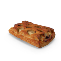 Sour Cherry Vanilla Pastry PNG & PSD Images
