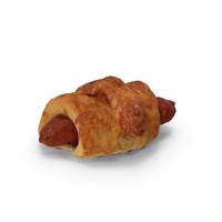 Sausage Croissant PNG & PSD Images