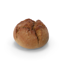 Small Round Rustical Bread PNG & PSD Images