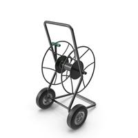 Garden Water Hose Reel Cart PNG & PSD Images