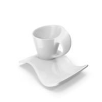 Cup with Saucer PNG & PSD Images
