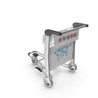 Airport Trolley PNG & PSD Images