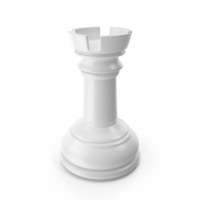 Chess Rook White PNG & PSD Images