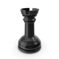 Chess Rook Black PNG & PSD Images