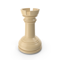 Chess Rook Cream PNG & PSD Images