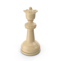 Chess Queen Cream PNG & PSD Images