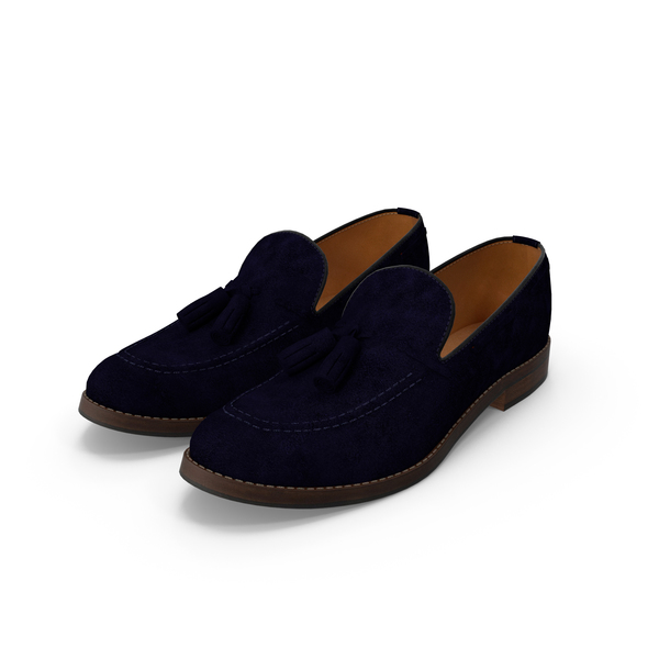 Loafers Blue PNG & PSD Images