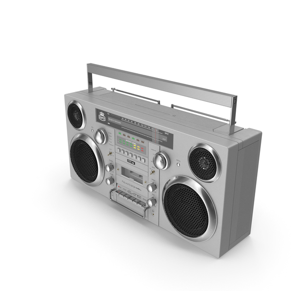 GPO Retro Portable Boombox PNG & PSD Images