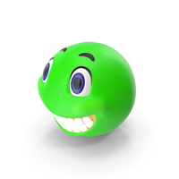 Green Smile Face PNG & PSD Images