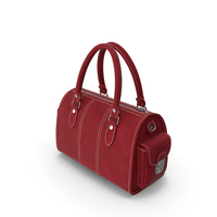 Woman's Leather Bag PNG & PSD Images