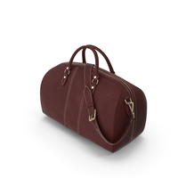 Leather Travel Bag PNG & PSD Images