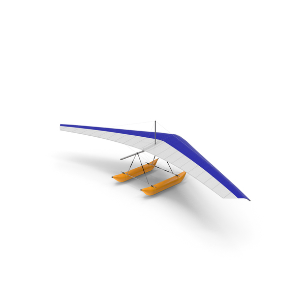 Hang Glider with Inflatable Pontoon PNG & PSD Images