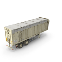 Harvester Trailer Dirty PNG & PSD Images