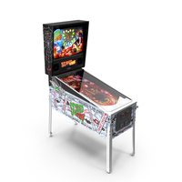Pinball Machine : Scared Stiff PNG & PSD Images