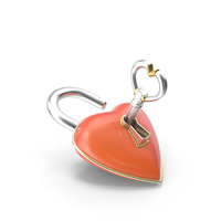 Heart Lock PNG & PSD Images