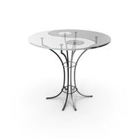 Black And White Glass Table PNG & PSD Images