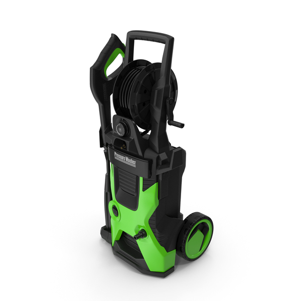 High Pressure Electric Washer Generic PNG & PSD Images