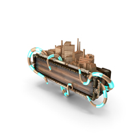 Steampunk Frame PNG & PSD Images