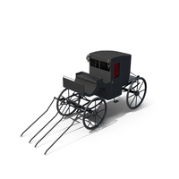 Victorian Carriage Brougham PNG & PSD Images