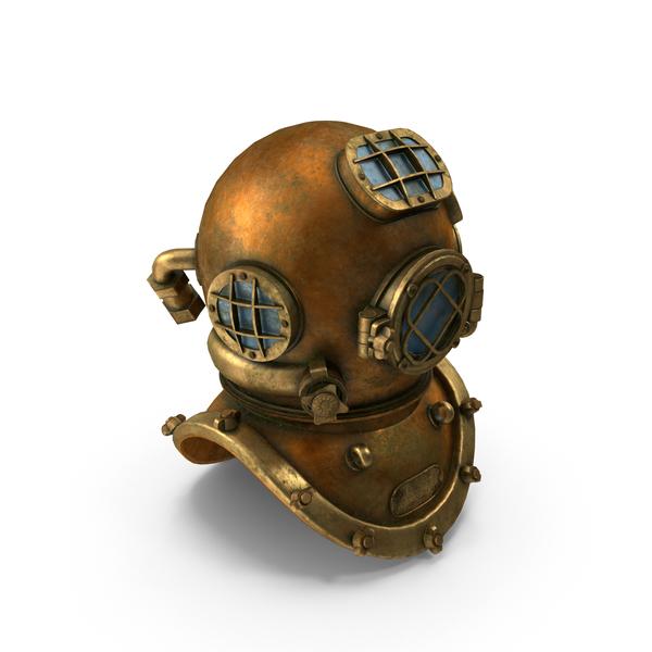 Old Diving Helmet PNG & PSD Images