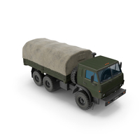 Kamaz Millitary Truck PNG & PSD Images