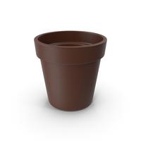 Clay Pot Brown PNG & PSD Images
