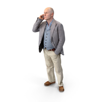 Man With Phone Posed PNG & PSD Images