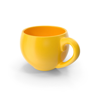 Yellow Cup PNG & PSD Images