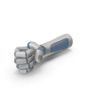Robo Hand Narrow Pole Object Hold Pose PNG & PSD Images
