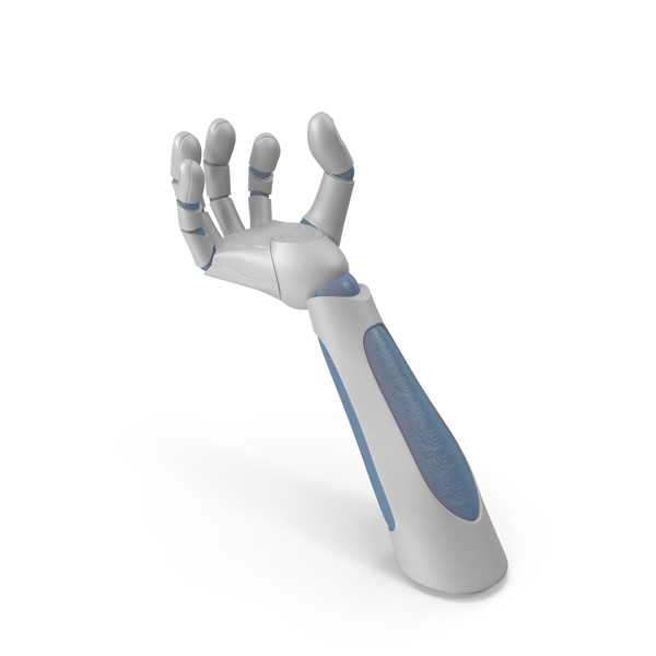 Robot Hand Upwards Object Hold Pose PNG & PSD Images