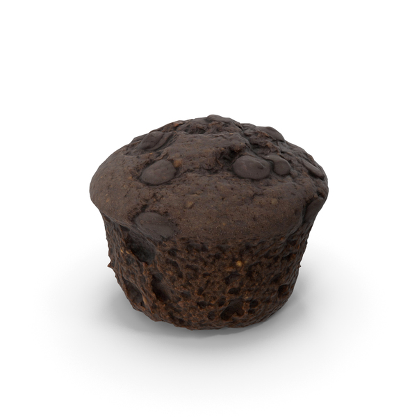 Chocolate Muffin PNG & PSD Images