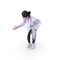 Doctor Woman Posed PNG & PSD Images