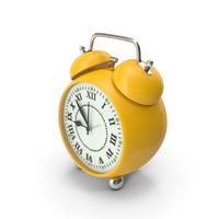 Alarm Clock Orange PNG & PSD Images