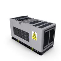Diesel Generator Grey PNG & PSD Images