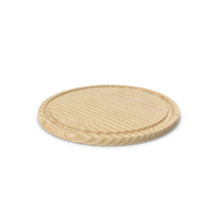Round Chopping Board PNG & PSD Images