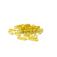 Pile Of Flail Chain Yellow PNG & PSD Images