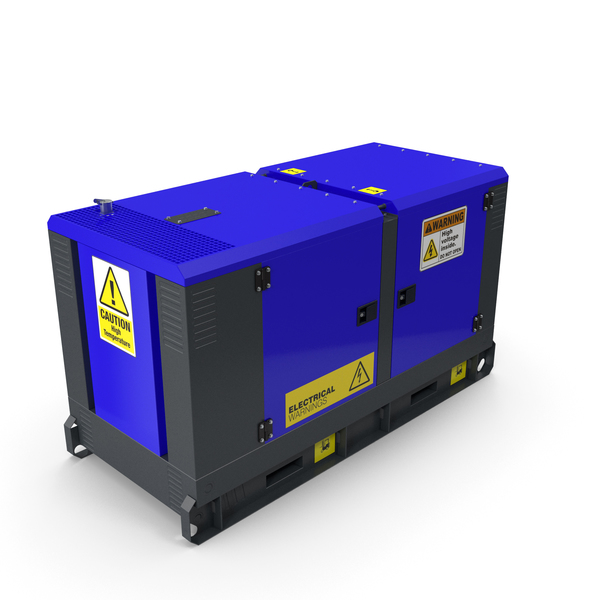 Power Generator Blue PNG & PSD Images