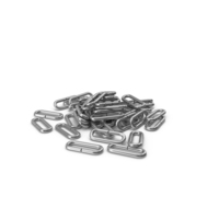 Pile Of Flail Chain Silver PNG & PSD Images
