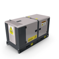 Power Generator Grey PNG & PSD Images