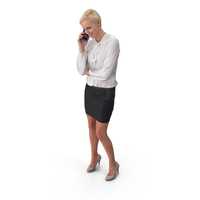 Woman With Phone PNG & PSD Images