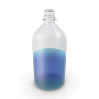 Laboratory Bottle Large With Isopropanol PNG & PSD Images