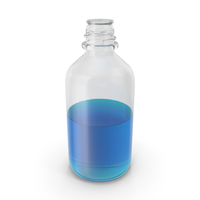 Laboratory Bottle Medium With Isopropanol PNG & PSD Images