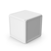 Cube White PNG & PSD Images