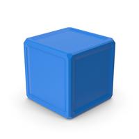 Cube Blue PNG & PSD Images