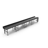 Horizontal Roller Conveyor Belt PNG & PSD Images