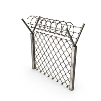 Barbed Wire Fence PNG & PSD Images