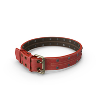 Red Animal Collar PNG & PSD Images