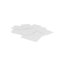 Scattered Sheets PNG & PSD Images