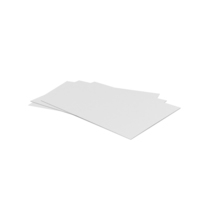 White Printed Sheets PNG & PSD Images
